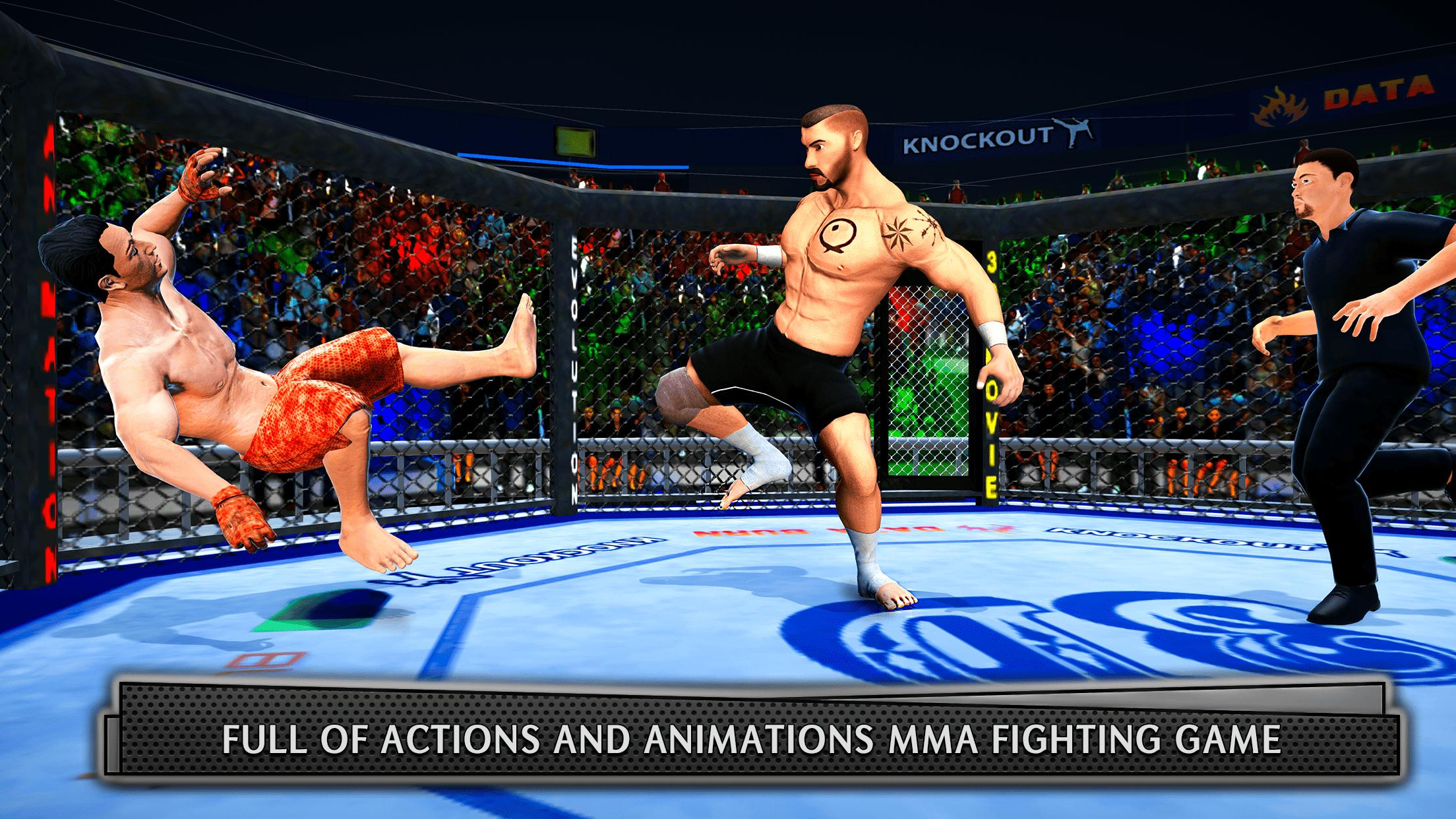 Real MMA Fighting 3D: Kungfu Martial Arts Fighting for