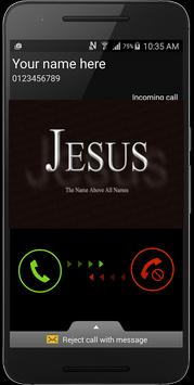 Call from Jesus Christ poster