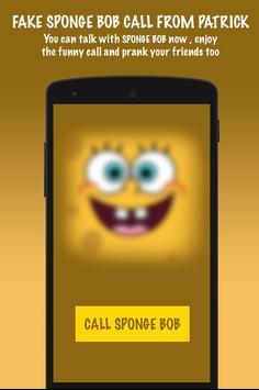 Fake Sponge bob Call From Patrick screenshot 1