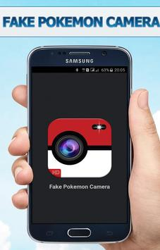 Go Fake Pokeball Camera prank poster