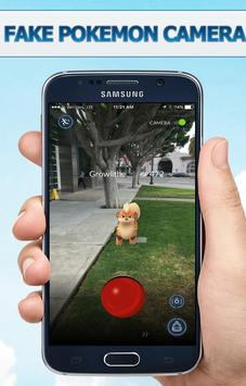 Go Fake Pokeball Camera prank screenshot 2