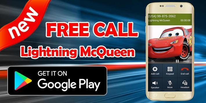 Call From Lightning McQueen - Prank screenshot 1
