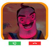 Fake Call Neighbor icon