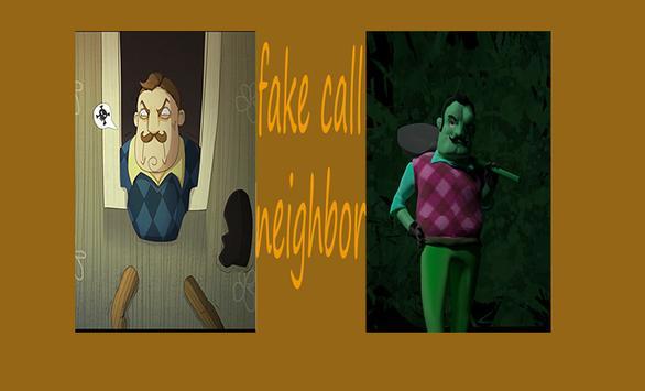 Fake Call Neighbor screenshot 1