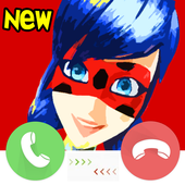 call from miraculous ladybug icon