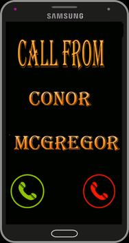 call from conor mcgregor prank poster