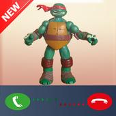 Prank Call From Ninja Turtles icon