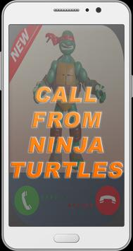 Prank Call From Ninja Turtles poster