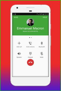 Fake Call Emmanuel Macron screenshot 3