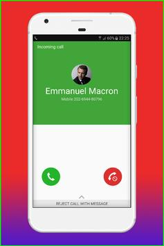 Fake Call Emmanuel Macron screenshot 14