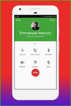 Fake Call Emmanuel Macron screenshot 5