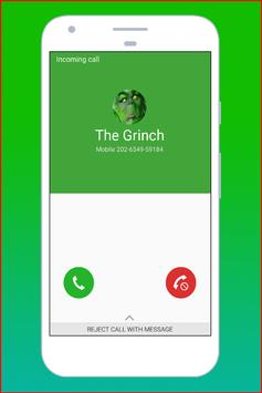 Fake Call The Grinch poster