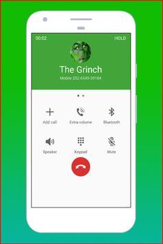 Fake Call The Grinch screenshot 1