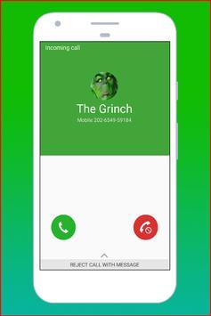 Fake Call The Grinch screenshot 2