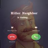 Fake Call Killer Neighbor icon