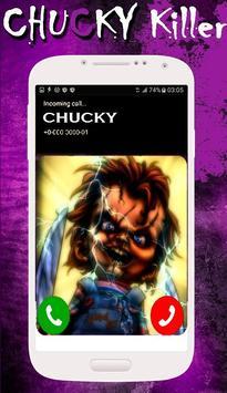 ChuCky Killer Call - Prank poster