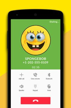 Fake call from sponge boob apk download free entertainment app fake call from sponge boob apk screenshot voltagebd