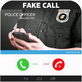 Police Fake Call Prank icon