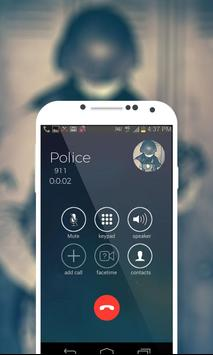 Police Fake Call Prank apk screenshot