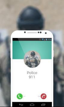 Police Fake Call Prank poster