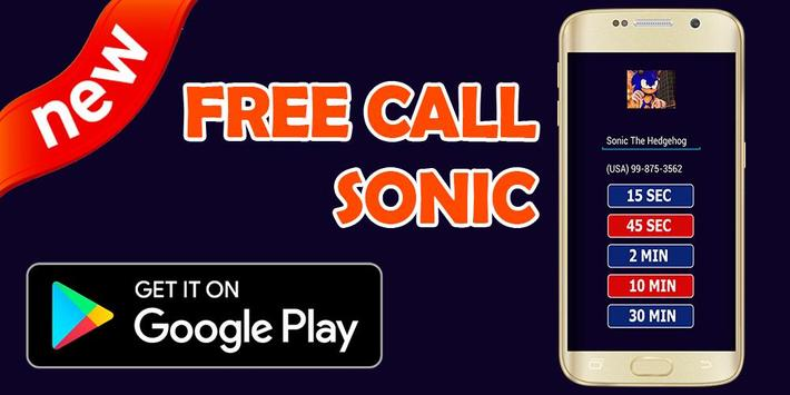 Call From Sonic - Prank screenshot 3