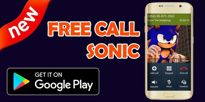 Call From Sonic - Prank screenshot 1
