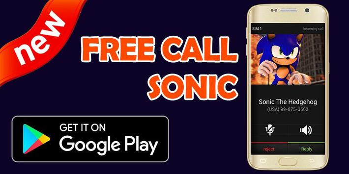 Call From Sonic - Prank screenshot 2