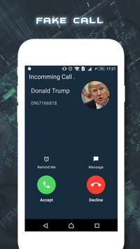 Fake Call Prank 2017 poster