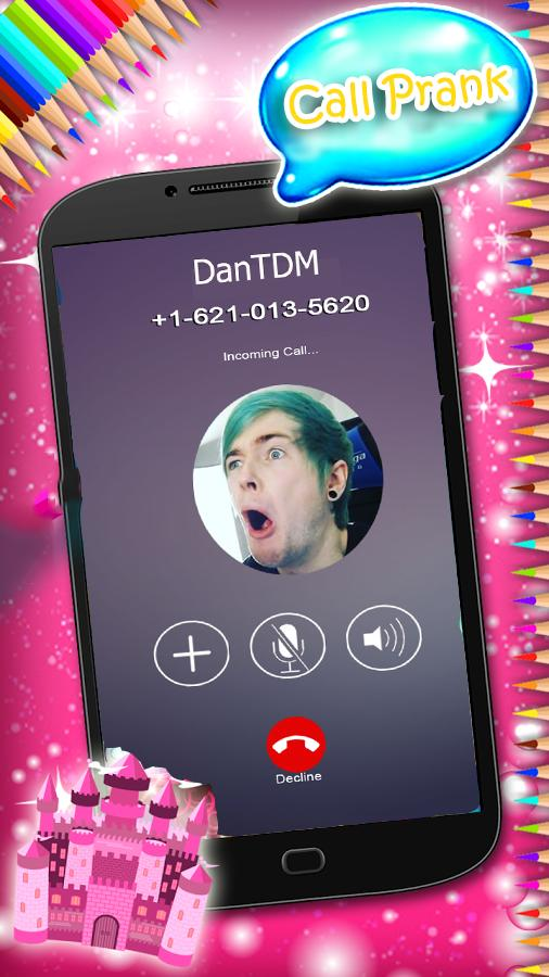 Fake Call from DanTdm for Android - APK Download