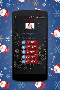 A Call From Santa claus 2018 - Prank screenshot 5