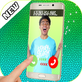 Fake call from Guava juice icon