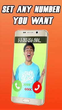 Fake call from Guava juice screenshot 2