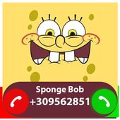 Fake Call From Spongebob icon