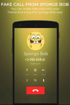 Fake Call From Spongebob screenshot 3