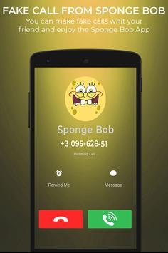Fake Call From Spongebob screenshot 2