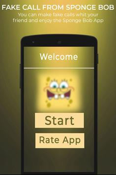 Fake Call From Spongebob screenshot 4