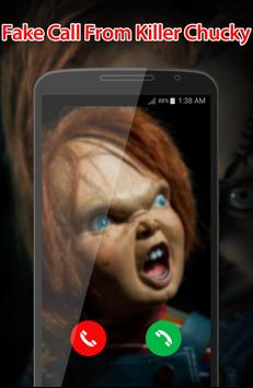Fake Call From Killer Chucky screenshot 2