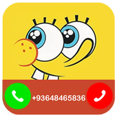 Fake Call from Spongebob icon