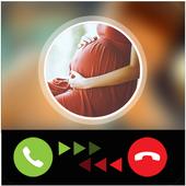 Calling prank pregnant icon