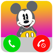 Fake Call From Mickey MS icon