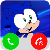 Fake Call From Sonic icon