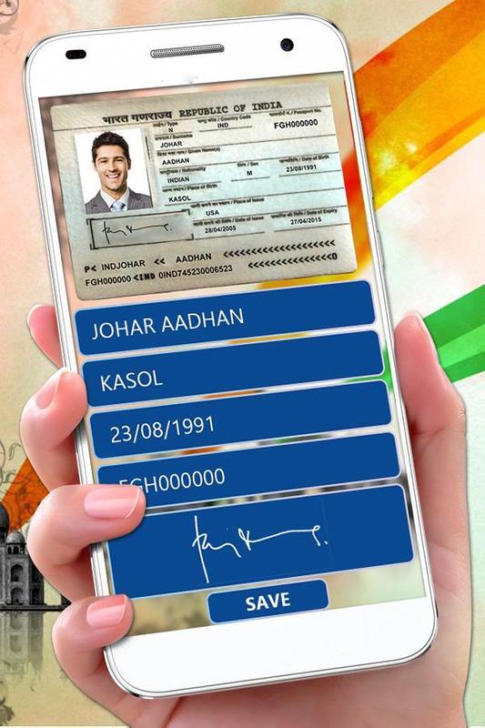 Maker Tải Android Prank Về Fake Cho Passport Apk -