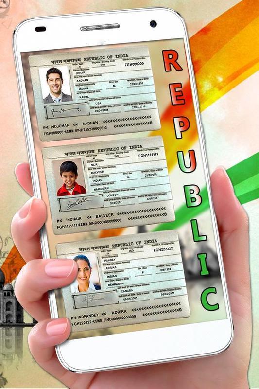 Android Prank - Maker Passport Cho Về Tải Fake Apk