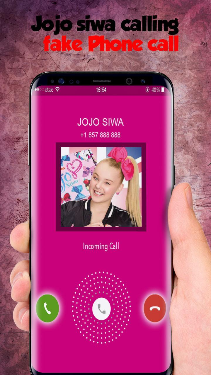 real live call from jojo siwa - Prank for Android - APK Download