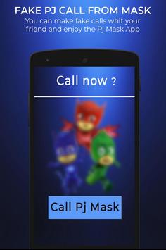 Fake Pj call From mask screenshot 1