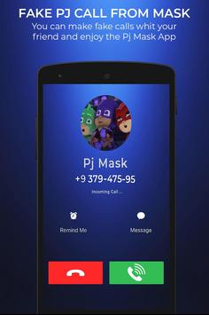 Fake Pj call From mask screenshot 2