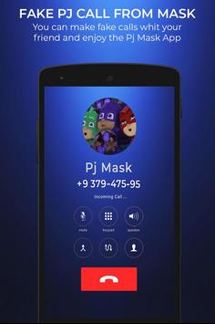 Fake Pj call From mask screenshot 3