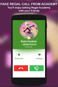 Fake Regal Call From Academy screenshot 2