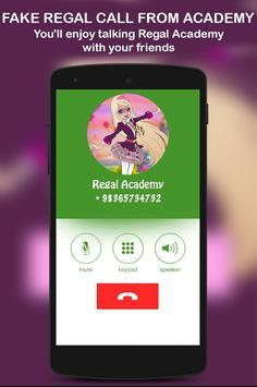 Fake Regal Call From Academy screenshot 3