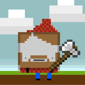 Super Angry Chop Pixel icon